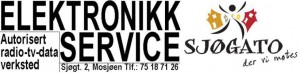 Logo for Elektronikk-service