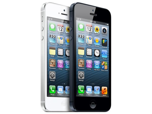 iPhone 5 deler på lager