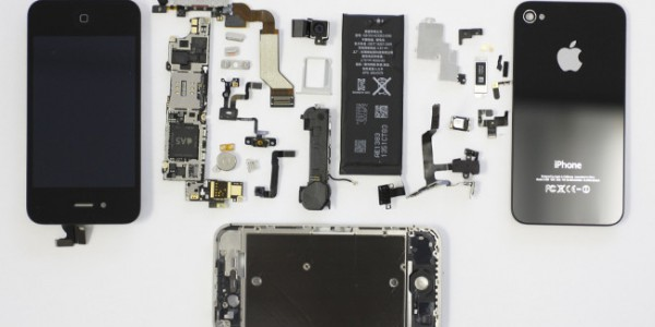 Iphone 5S skjerm på lager