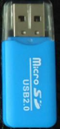 Kortleser micro SD