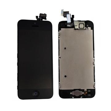 iPhone 5 skjermer sort og hvit
