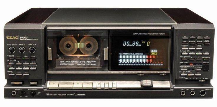 Vintage Teac Z-7000 Ghetto blaster