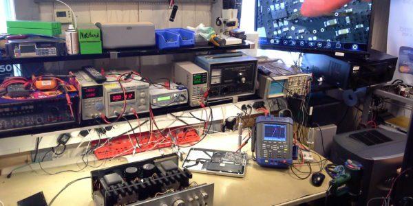 Oppgradert instrumenter og verksted oppsett