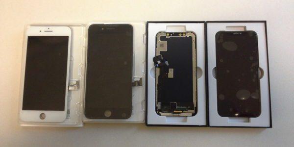 iPhone X skjermer på lager