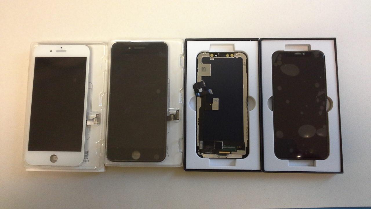 Nye iPhone 8 Skjermer på lager